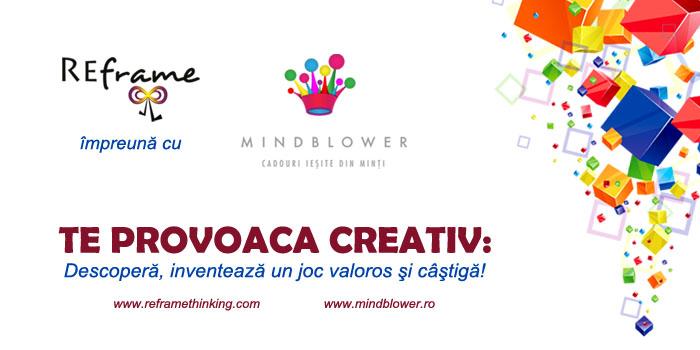 CONCURS: REframe & Mindblower te provoacă creativ: