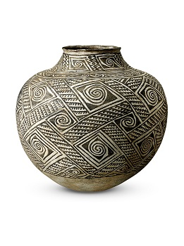 Original File Name:Penn.1253_Stack.tif, Legacy Asset Id:, Description:Olla (jar). Anasazi 1100-1125. 38cm high 42cm wide.