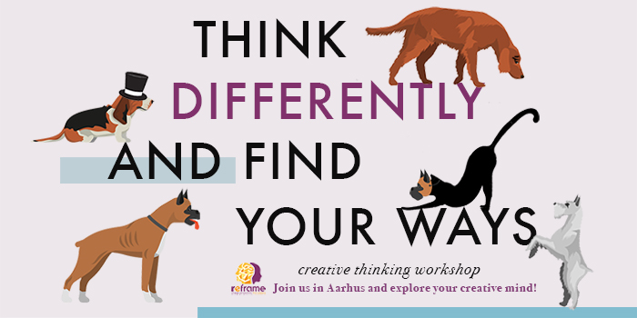Think differently and find your ways!