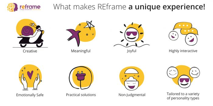 What makes REframe a unique experience