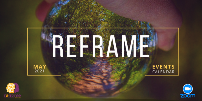 Play creatively! – REframe Events Calendar (May 2021)